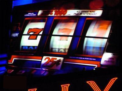 Slot machine vietate