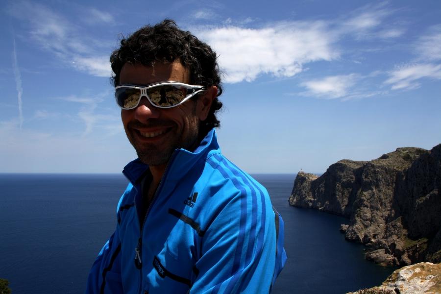 L'allenatore Fabio Palma