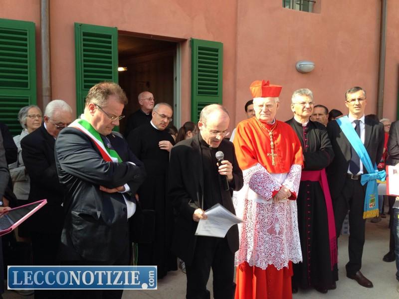 Chiuso  Il Cardinale Scola inaugura il museo del Beato