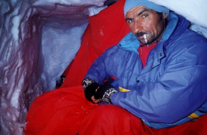 Casimiro Ferrari, protagonista con Vittorio Meles della vittoriosa ascensione alla parete est del Fitz Roy.