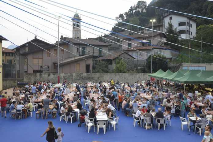 Un'immagine d'archivio della festa