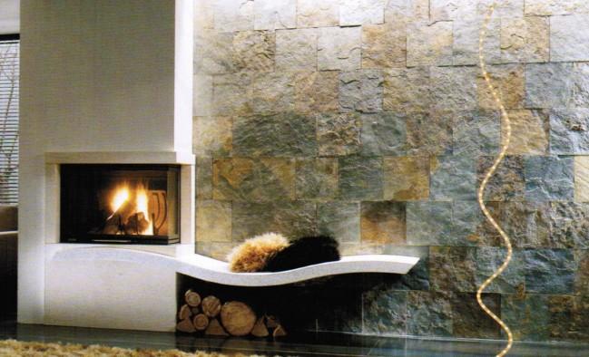 Architettura sostenibile. energia 3 riscaldare con la biomassa