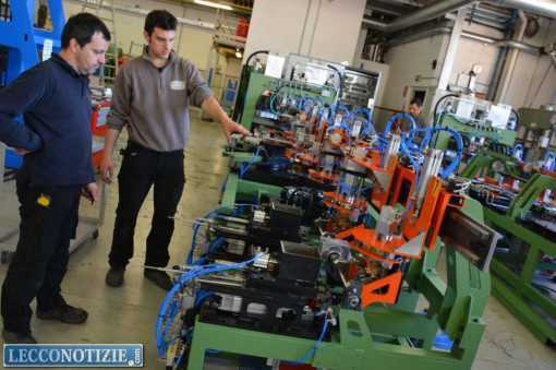 lavoro industria fabbria Varo di Valmadrera