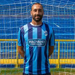 L'autore del gol del vantaggio bluceleste, Simone D'Anna
