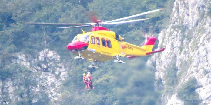 Elicottero elisoccorso di Como