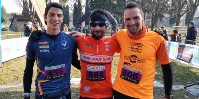Scaldagambe Winter Trail podio 30 chilometri