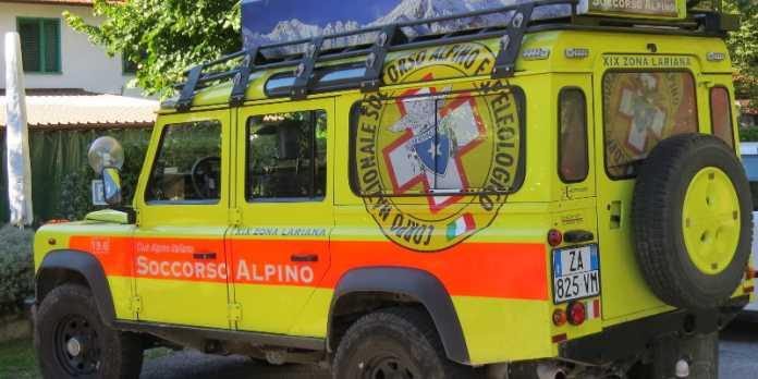 Jeep Soccorso Alpino Lecco XIX Delegazione Lariana Cnsas