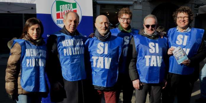 forza italia gilet blu