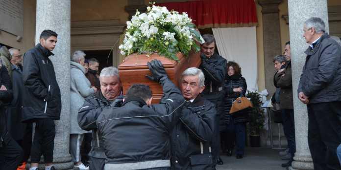 funerale gianpaolo redaelli olginate