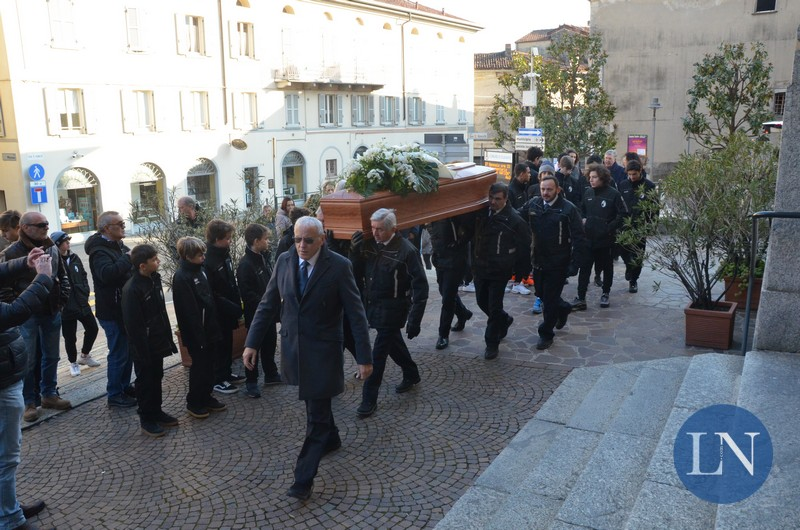 Olginate funerali Gianpaolo Redaelli