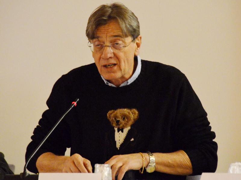 Il sindaco di Calolziocorte Marco Ghezzi