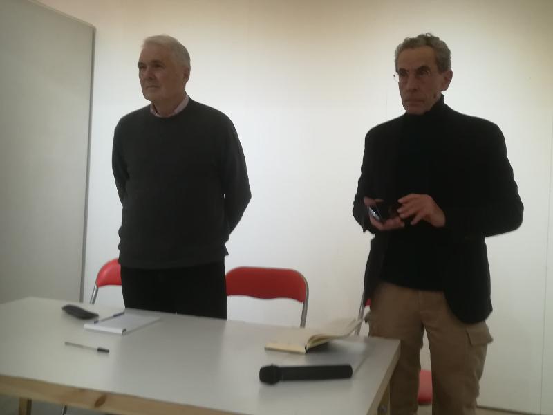 Giovanni Battista Albani e Aldo Castelli