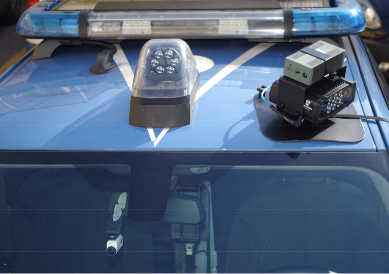 Polizia stradale street control