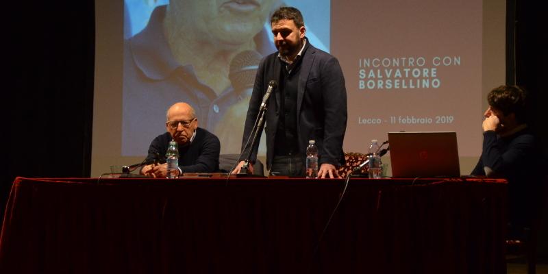 Salvatore Borsellino Paolo Lecco