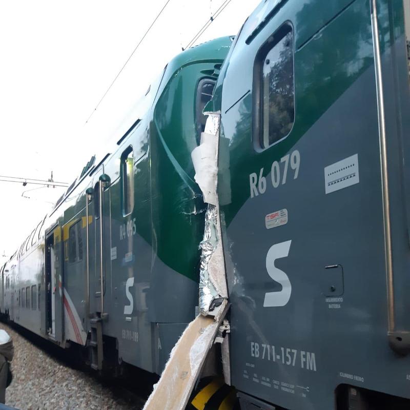 incidente ferroviario a Inverigo