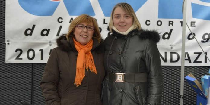 Tiziana Esposito e la nuova presidente della Pro Loco Simona Bonacina