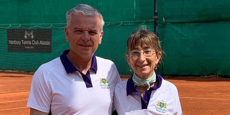 Piero Castagna e Laura Pozzan