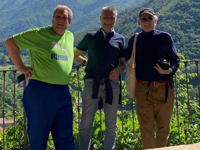 Christopher Heath Brown, Massimo Mazzoleni e Jean-Pierre Isbouts