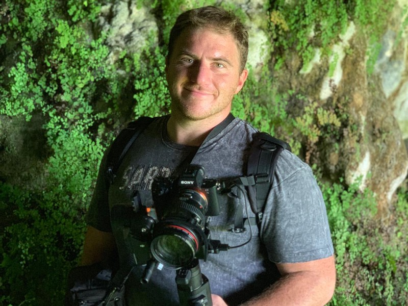 Il regista Antonio Losa