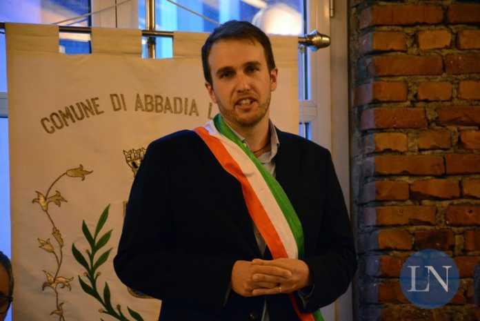 Il sindaco Roberto Azzoni di Abbadia