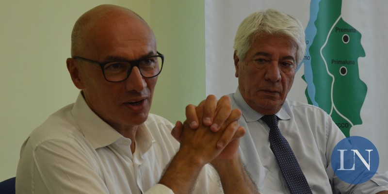 Daniele Riva e Vittorio Tonini