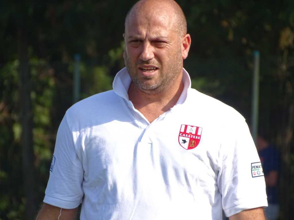 L'allenatore della Casatese Danilo Tricarico (credit foto Usd Casatese)