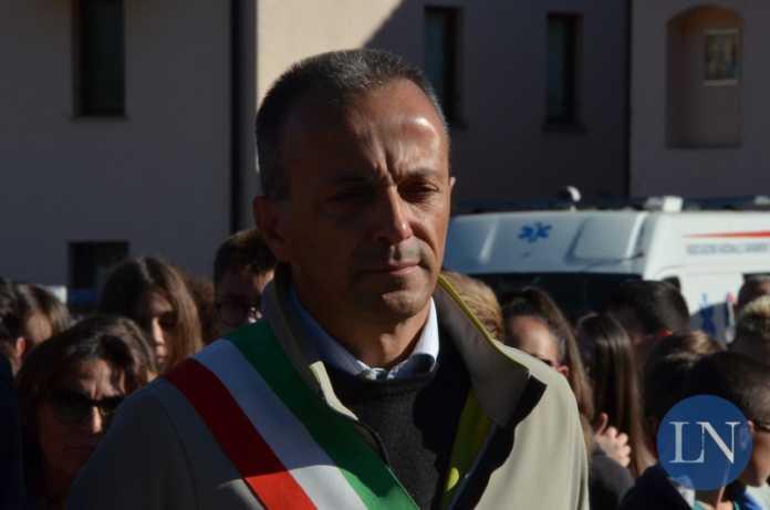 Il sindaco di Barzio Giovanni Arrigoni Battaia