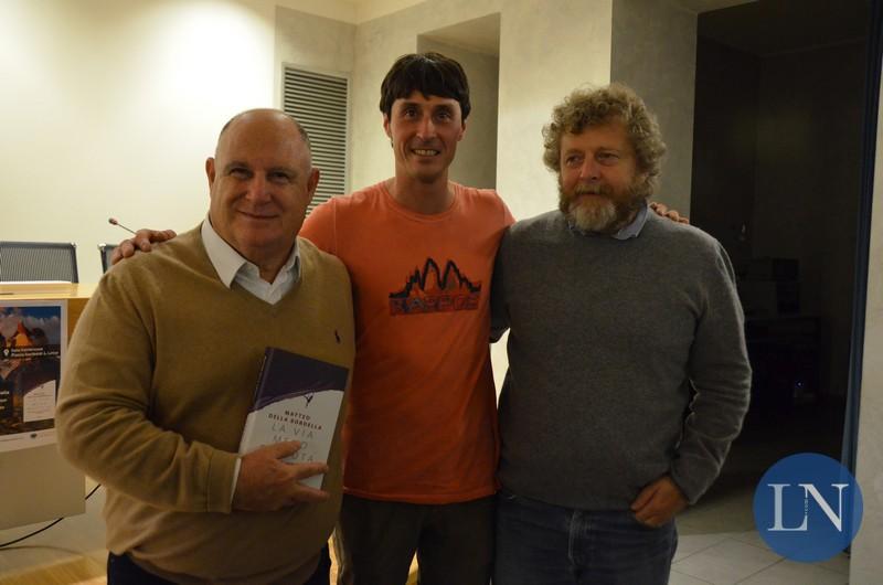 Antonio Peccati, Matteo Della Bordella e Alberto Pirovano