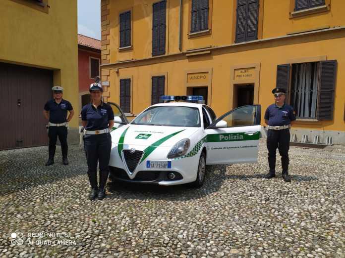 La polizia locale di Cernusco