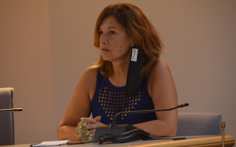 L'assessore Cristina Valsecchi