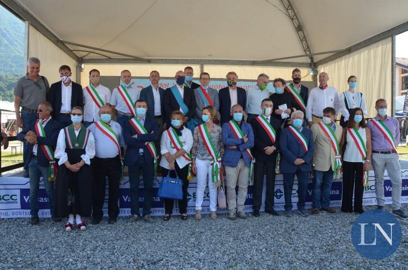 """Barzio. Inaugurata la 55^ Sagra delle Sagre: """"L'edizione del coraggio e della speranza"""""""