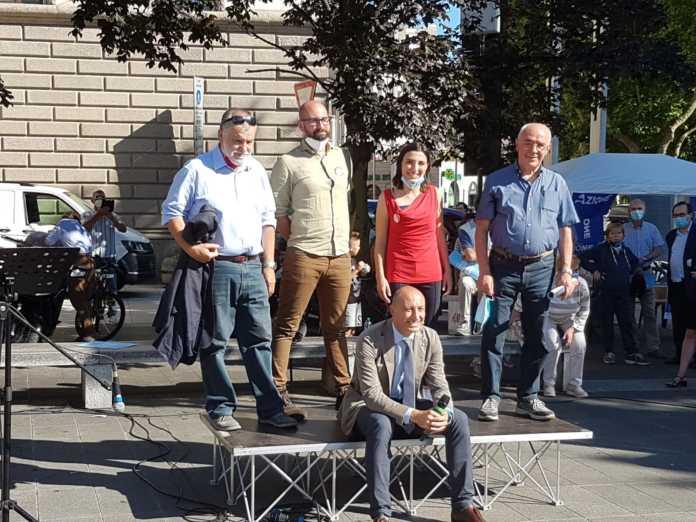 Il centro-sinistra per Gattinoni Primo cittadino aderisce alla Campagna Gentile