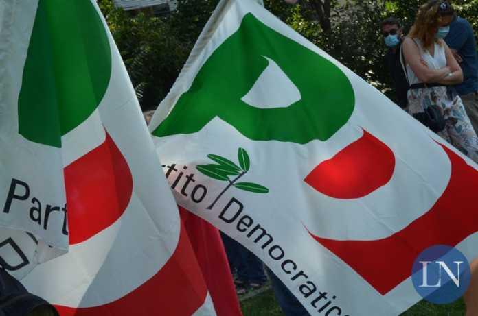 bandiere Partito Democratico PD