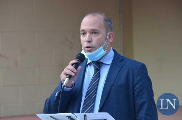 Il sindaco Giovanni Bruno Bussola