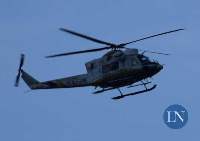 Elicottero Guardia di Finanza
