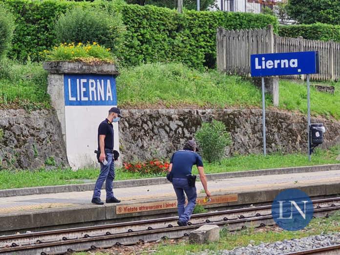 treno lierna stazione incidente