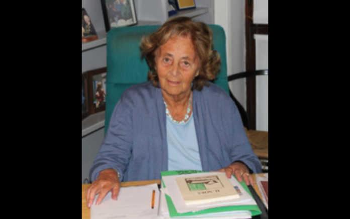 L'avvocato Adele Sirolli vedova Martini, scomparsa all'età di 96 anni