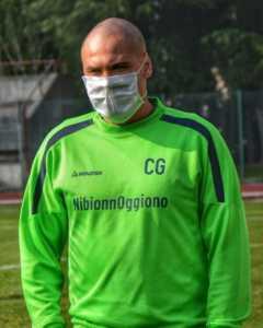 L'allenatore del NibionnOggiono Giuseppe Commisso (credit foto NibionnOggiono)