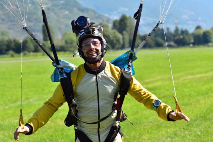 Marco Pietro Rossi paracadutista