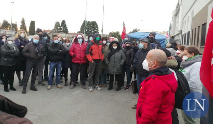Voss Osnago sindacalisti e lavoratori