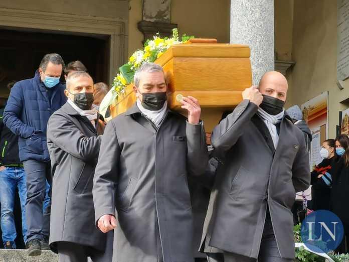 Virgilio Bonacina funerale