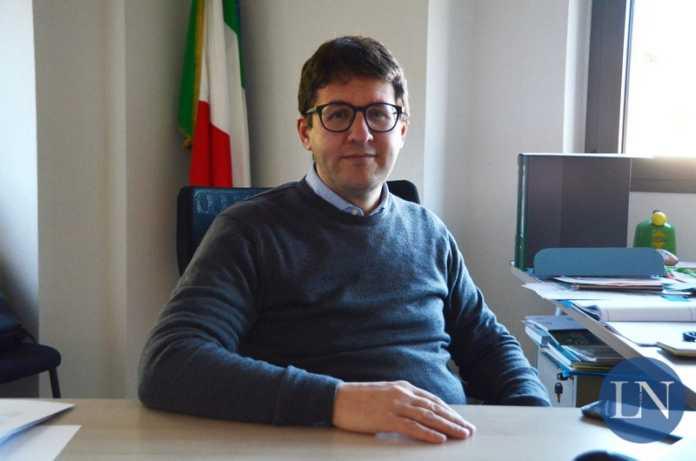 Il sindaco di Olginate Marco Passoni