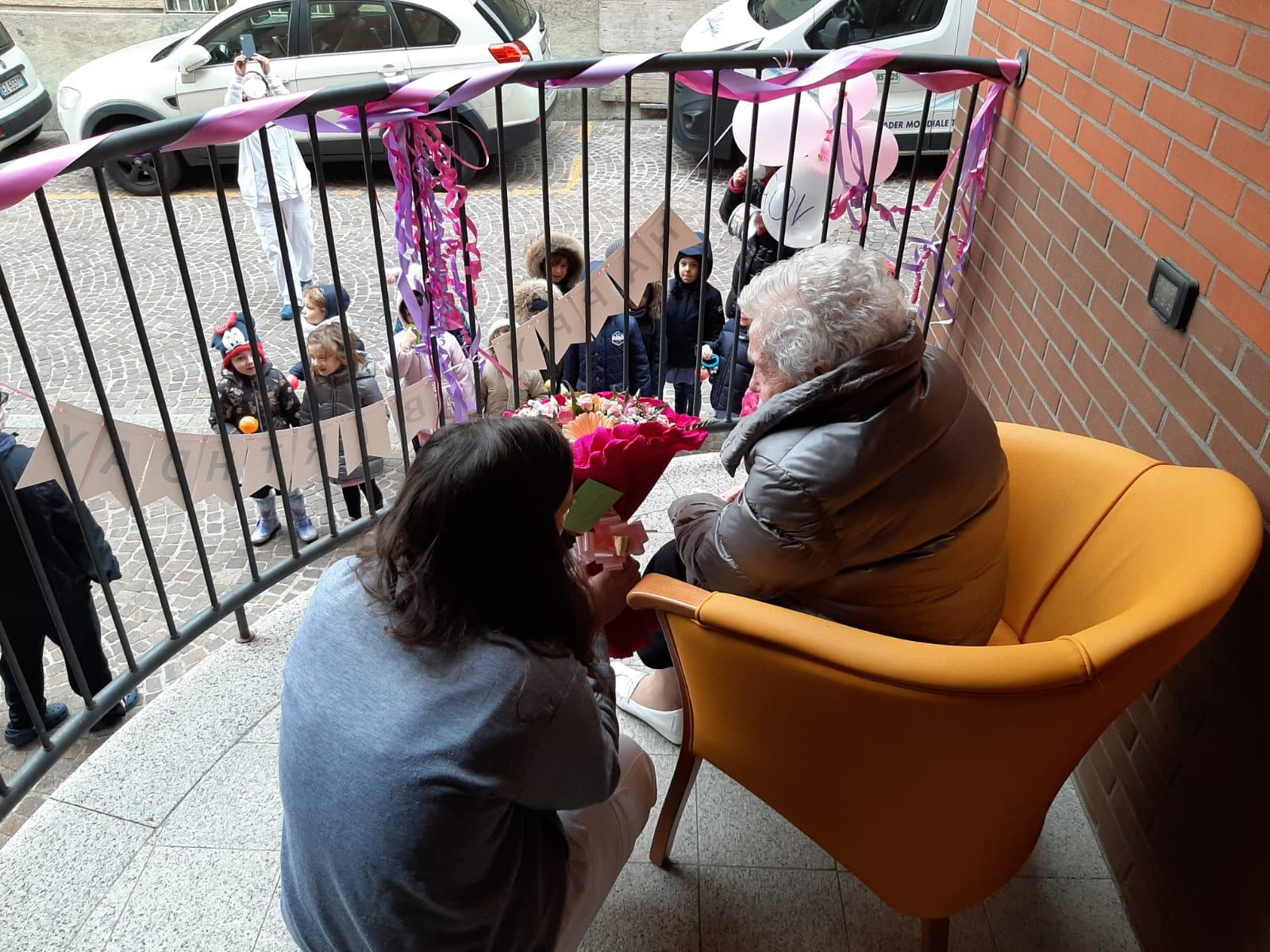 Concetta 105 anni Rsa Borsieri