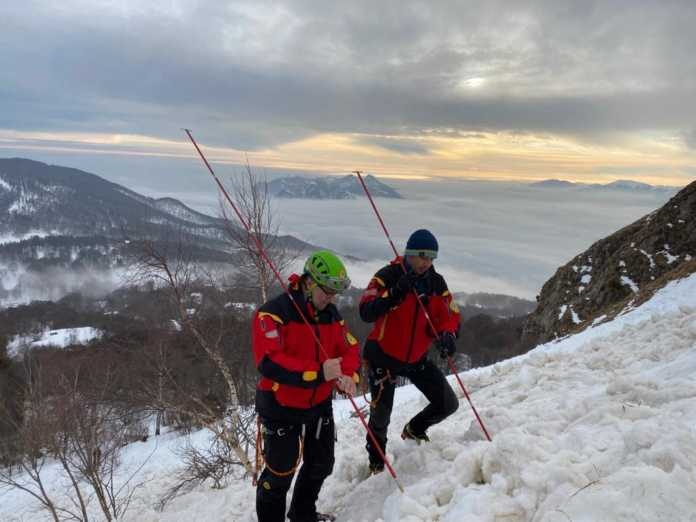 Soccorso Alpino Valanga Grignetta