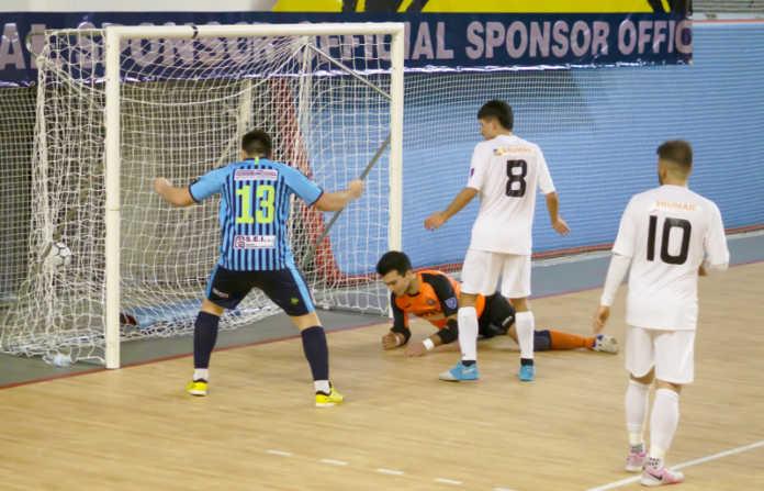 Il 2-3 firmato da Scarpetta contro Asti