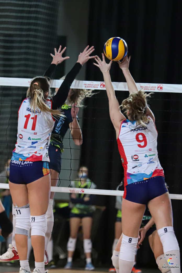 Pallavolo Serie B1 femminile AcciaiTubi Picco Lecco