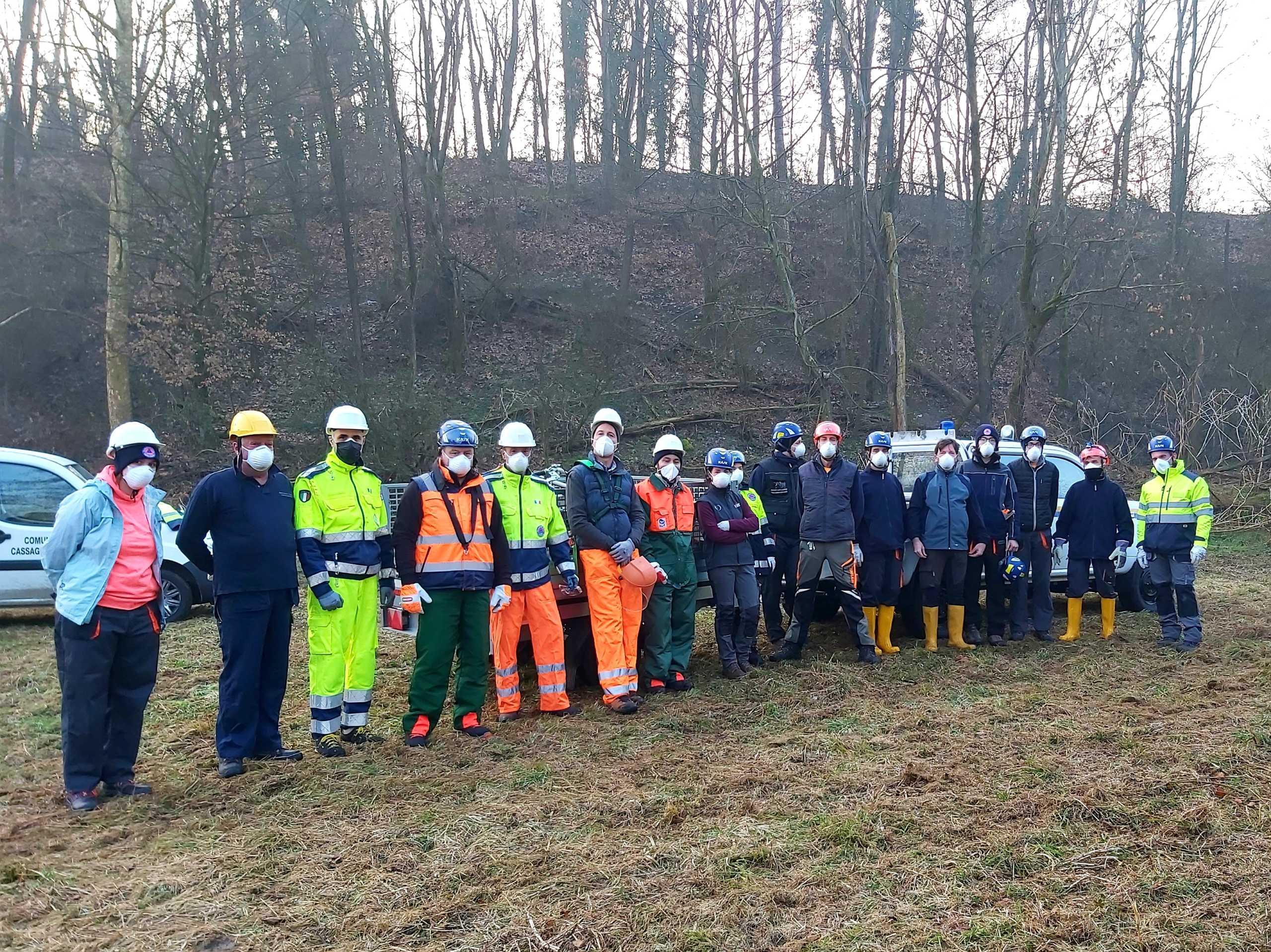 Protezione Civile Bulciago - fiumi sicuri 2021 - torrente Bevera (1)