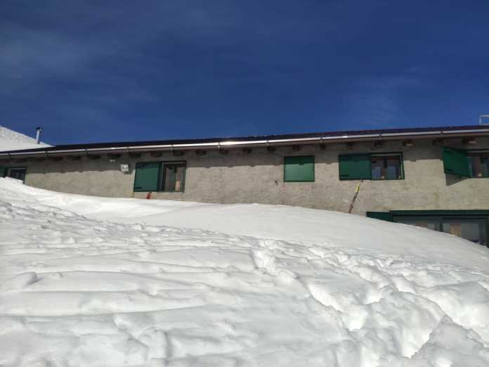 Rifugio Santa Rita inverno 2021