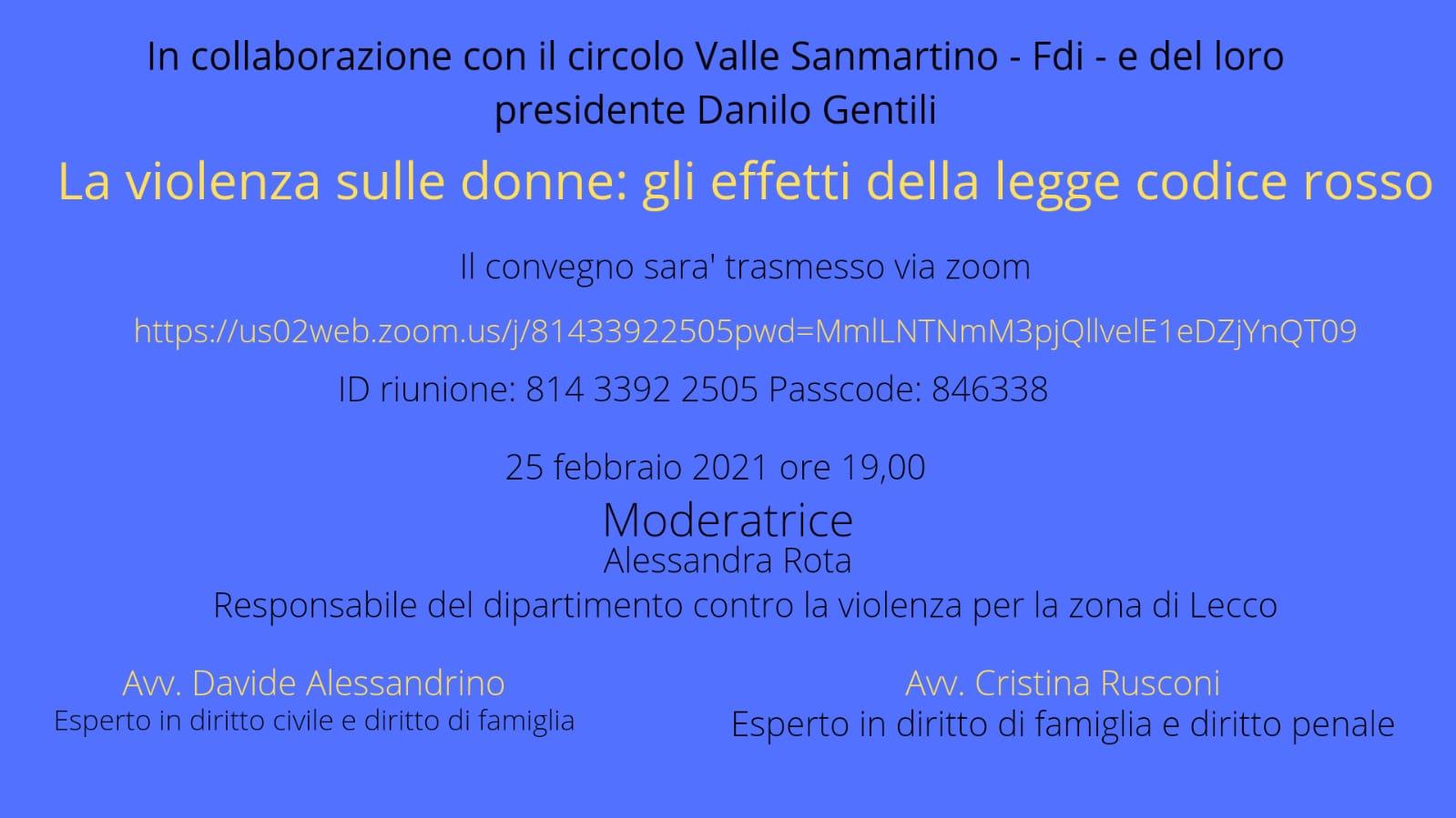Incontro Fratelli d'Italia