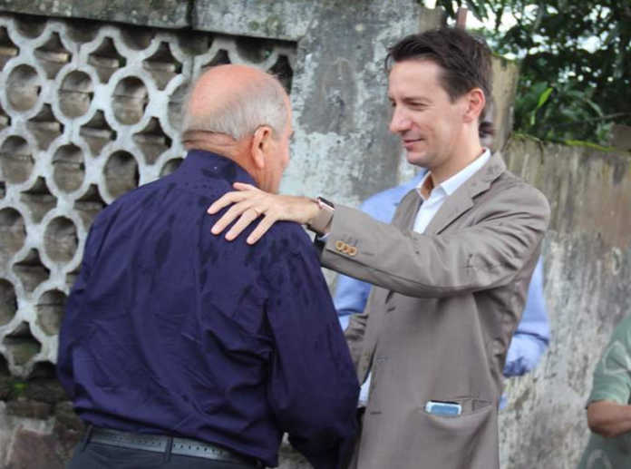 Ambasciatore Luca Attanasio e Monsignore Antonio Barone